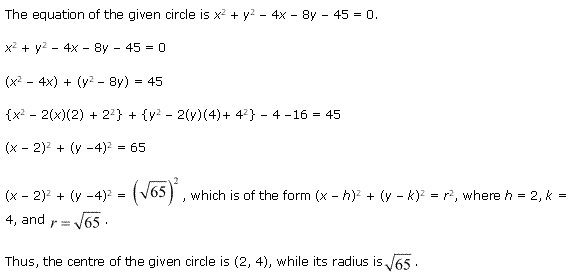 NCERT Solutions for Class 11 Maths Chapter 11 Conic Sections Ex 11.1 Q7.1