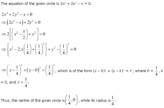 NCERT Solutions for Class 11 Maths Chapter 11 Conic Sections Ex 11.1 Q9.1