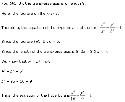 NCERT Solutions for Class 11 Maths Chapter 11 Conic Sections Ex 11.4 Q10.1