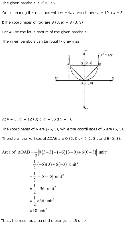 NCERT Solutions for Class 11 Maths Chapter 11 Conic Sections Miscellaneous Ex Q6.1