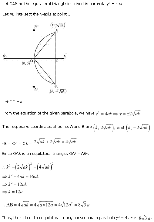 NCERT Solutions for Class 11 Maths Chapter 11 Conic Sections Miscellaneous Ex Q8.1