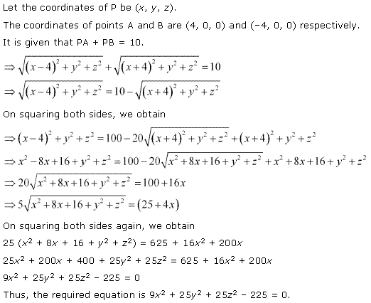 NCERT Solutions for Class 11 Maths Chapter 12 Introduction to three Dimensional Geometry Ex 12.2 Q5.1