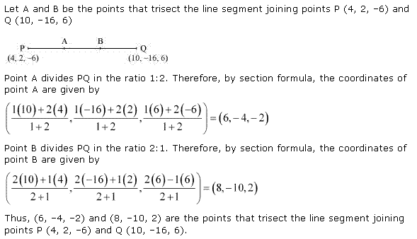 NCERT Solutions for Class 11 Maths Chapter 12 Introduction to three Dimensional Geometry Ex 12.3 Q5.1