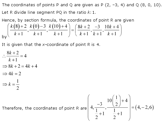 NCERT Solutions for Class 11 Maths Chapter 12 Introduction to three Dimensional Geometry Miscellaneous Ex Q5.1
