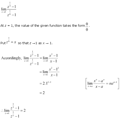 NCERT Solutions for Class 11 Maths Chapter 13 Limits and Derivatives Ex 13.1 Q10.1
