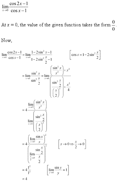 NCERT Solutions for Class 11 Maths Chapter 13 Limits and Derivatives Ex 13.1 Q17.1