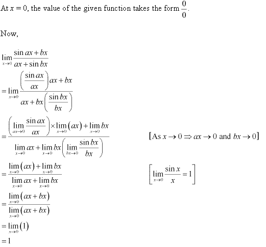 NCERT Solutions for Class 11 Maths Chapter 13 Limits and Derivatives Ex 13.1 Q20.1