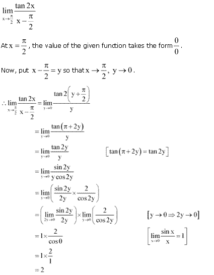 NCERT Solutions for Class 11 Maths Chapter 13 Limits and Derivatives Ex 13.1 Q22.1