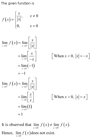 NCERT Solutions for Class 11 Maths Chapter 13 Limits and Derivatives Ex 13.1 Q26.1