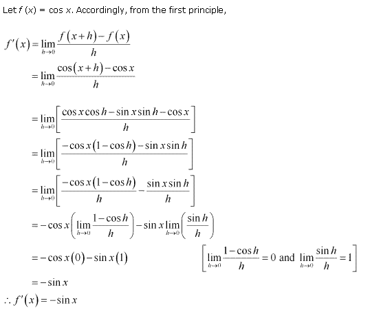 NCERT Solutions for Class 11 Maths Chapter 13 Limits and Derivatives Ex 13.2 Q10.1