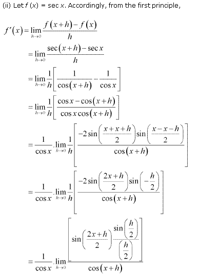 NCERT Solutions for Class 11 Maths Chapter 13 Limits and Derivatives Ex 13.2 Q11.2