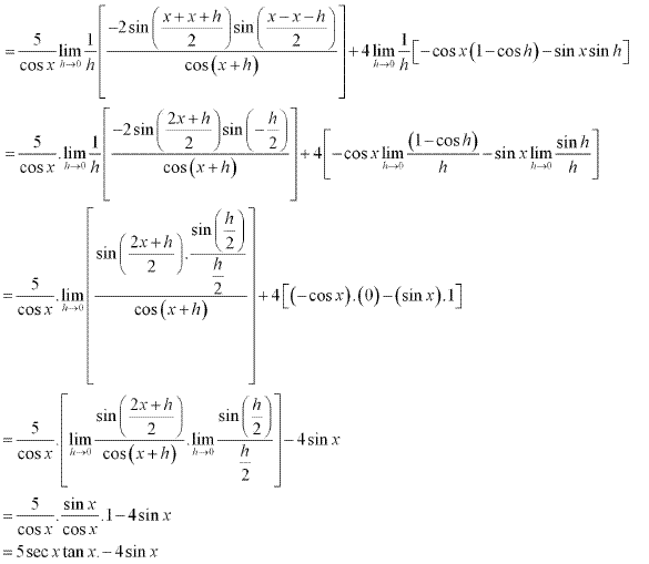 NCERT Solutions for Class 11 Maths Chapter 13 Limits and Derivatives Ex 13.2 Q11.4