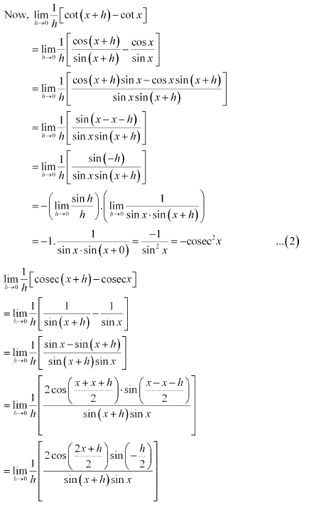 NCERT Solutions for Class 11 Maths Chapter 13 Limits and Derivatives Ex 13.2 Q11.7