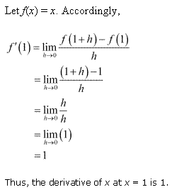 NCERT Solutions for Class 11 Maths Chapter 13 Limits and Derivatives Ex 13.2 Q3.1
