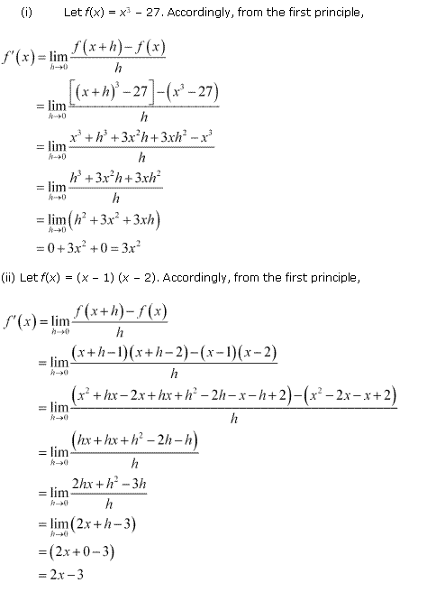 NCERT Solutions for Class 11 Maths Chapter 13 Limits and Derivatives Ex 13.2 Q4.1