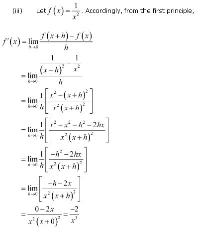 NCERT Solutions for Class 11 Maths Chapter 13 Limits and Derivatives Ex 13.2 Q4.2