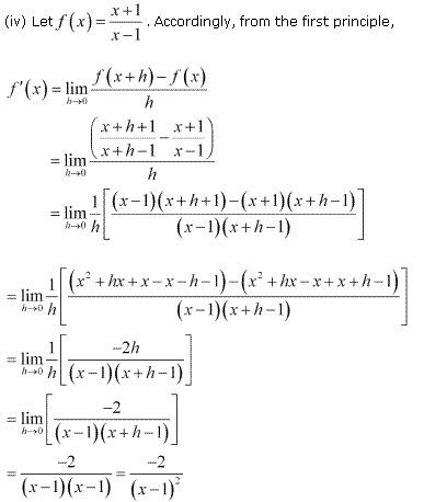 NCERT Solutions for Class 11 Maths Chapter 13 Limits and Derivatives Ex 13.2 Q4.3