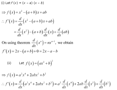 NCERT Solutions for Class 11 Maths Chapter 13 Limits and Derivatives Ex 13.2 Q7.1
