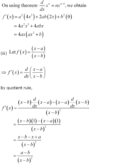 NCERT Solutions for Class 11 Maths Chapter 13 Limits and Derivatives Ex 13.2 Q7.2