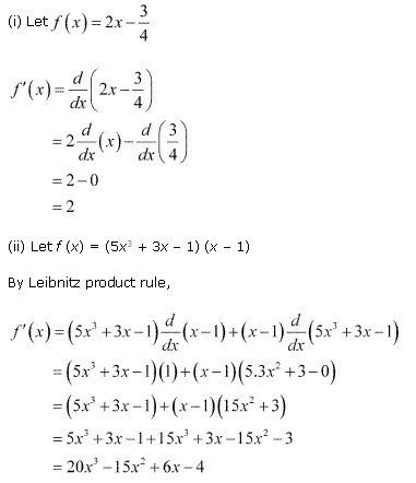 NCERT Solutions for Class 11 Maths Chapter 13 Limits and Derivatives Ex 13.2 Q9.1