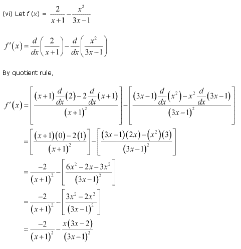 NCERT Solutions for Class 11 Maths Chapter 13 Limits and Derivatives Ex 13.2 Q9.4