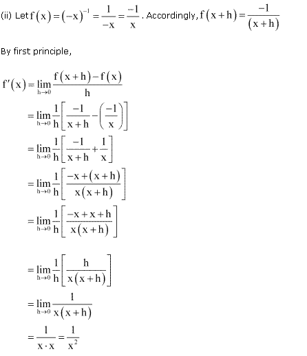 NCERT Solutions for Class 11 Maths Chapter 13 Limits and Derivatives Miscellaneous Ex Q1.2