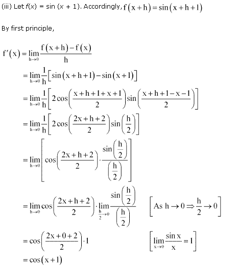 NCERT Solutions for Class 11 Maths Chapter 13 Limits and Derivatives Miscellaneous Ex Q1.3