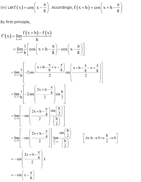 NCERT Solutions for Class 11 Maths Chapter 13 Limits and Derivatives Miscellaneous Ex Q1.4