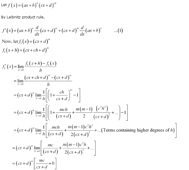 NCERT Solutions for Class 11 Maths Chapter 13 Limits and Derivatives Miscellaneous Ex Q13.1