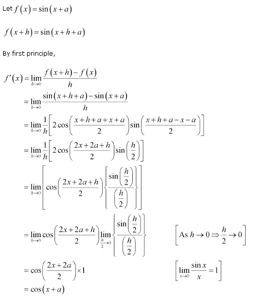 NCERT Solutions for Class 11 Maths Chapter 13 Limits and Derivatives Miscellaneous Ex Q14.1