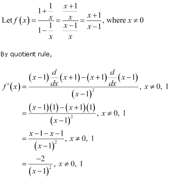 NCERT Solutions for Class 11 Maths Chapter 13 Limits and Derivatives Miscellaneous Ex Q6.1