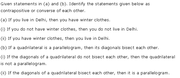NCERT Solutions for Class 11 Maths Chapter 14 Mathematical Reasoning Ex 14.4 Q4