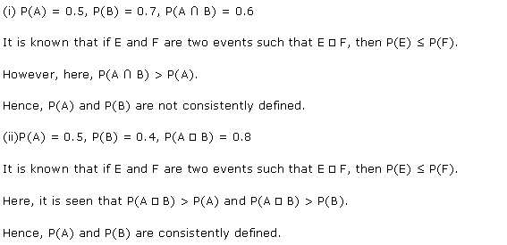 NCERT Solutions for Class 11 Maths Chapter 16 Probability Ex 16.3 Q12.1