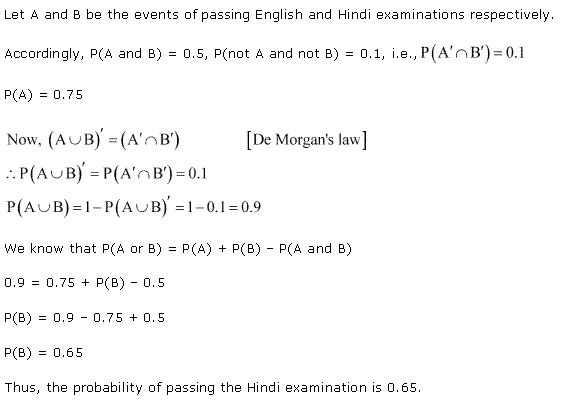 NCERT Solutions for Class 11 Maths Chapter 16 Probability Ex 16.3 Q20.1