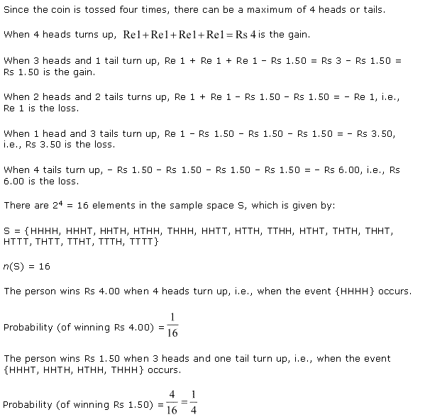 NCERT Solutions for Class 11 Maths Chapter 16 Probability Ex 16.3 Q7.1
