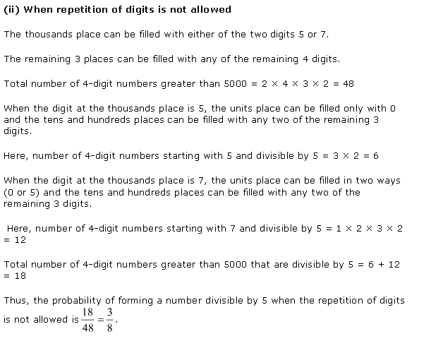 NCERT Solutions for Class 11 Maths Chapter 16 Probability Miscellaneous Ex Q9.2