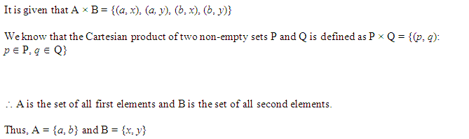 NCERT Solutions for Class 11 Maths Chapter 2 Relations and Functions Ex 2.1 Q6.1