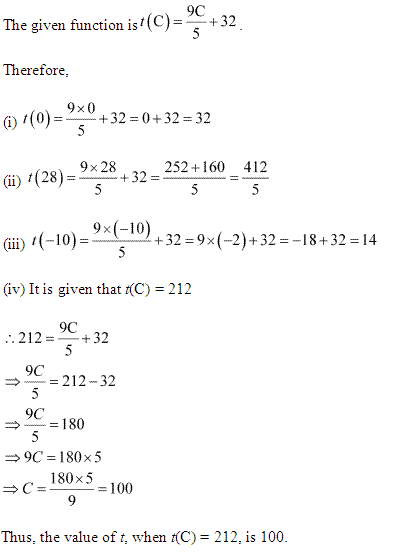 NCERT Solutions for Class 11 Maths Chapter 2 Relations and Functions Ex 2.3 Q4.1