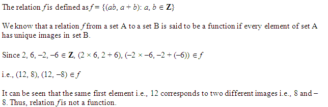 NCERT Solutions for Class 11 Maths Chapter 2 Relations and Functions Miscellaneous Questions Q11.1