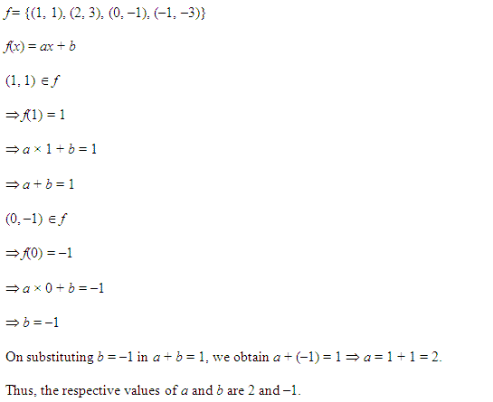 NCERT Solutions for Class 11 Maths Chapter 2 Relations and Functions Miscellaneous Questions Q8.1