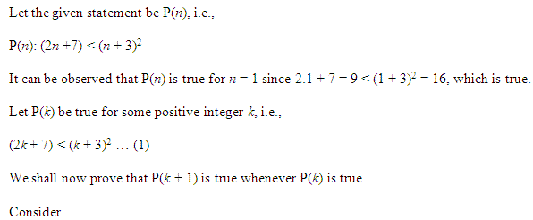 NCERT Solutions for Class 11 Maths Chapter 4 Principle of Mathematical Induction Ex 4.1 Q24.1