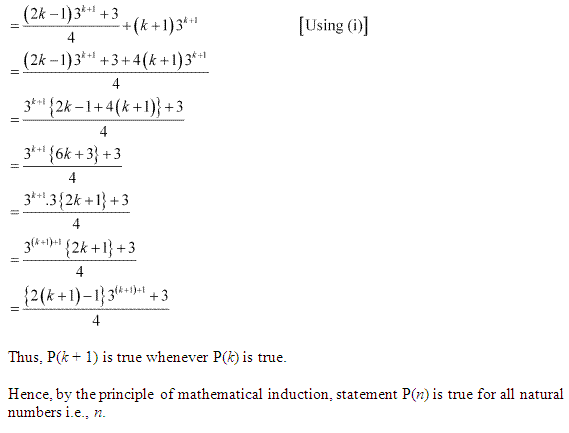 NCERT Solutions for Class 11 Maths Chapter 4 Principle of Mathematical Induction Ex 4.1 Q5.1