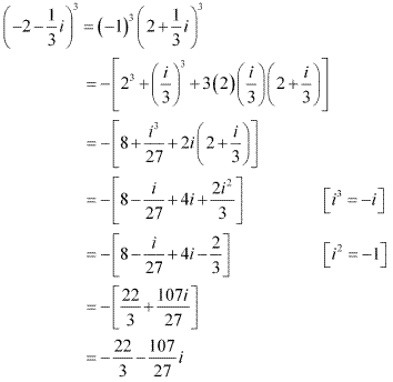 NCERT Solutions for Class 11 Maths Chapter 5 Complex Numbers and Quadratic Equations Ex 5.1 Q10.1