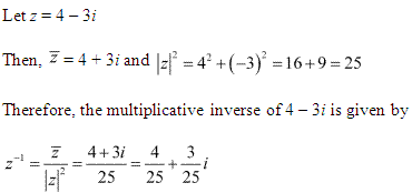 NCERT Solutions for Class 11 Maths Chapter 5 Complex Numbers and Quadratic Equations Ex 5.1 Q11.1