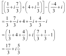 NCERT Solutions for Class 11 Maths Chapter 5 Complex Numbers and Quadratic Equations Ex 5.1 Q7.1