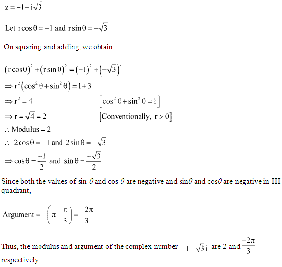NCERT Solutions for Class 11 Maths Chapter 5 Complex Numbers and Quadratic Equations Ex 5.2 Q1.1