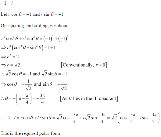 NCERT Solutions for Class 11 Maths Chapter 5 Complex Numbers and Quadratic Equations Ex 5.2 Q5.1