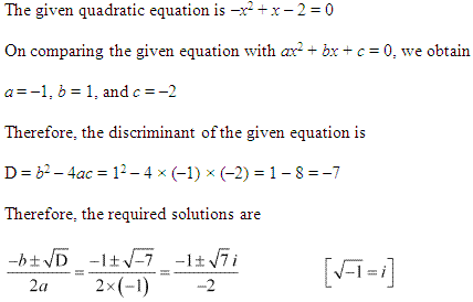 NCERT Solutions for Class 11 Maths Chapter 5 Complex Numbers and Quadratic Equations Ex 5.3 Q4.1