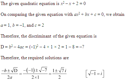 NCERT Solutions for Class 11 Maths Chapter 5 Complex Numbers and Quadratic Equations Ex 5.3 Q6.1