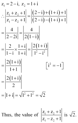 NCERT Solutions for Class 11 Maths Chapter 5 Complex Numbers and Quadratic Equations Miscellaneous Ex Q10.1